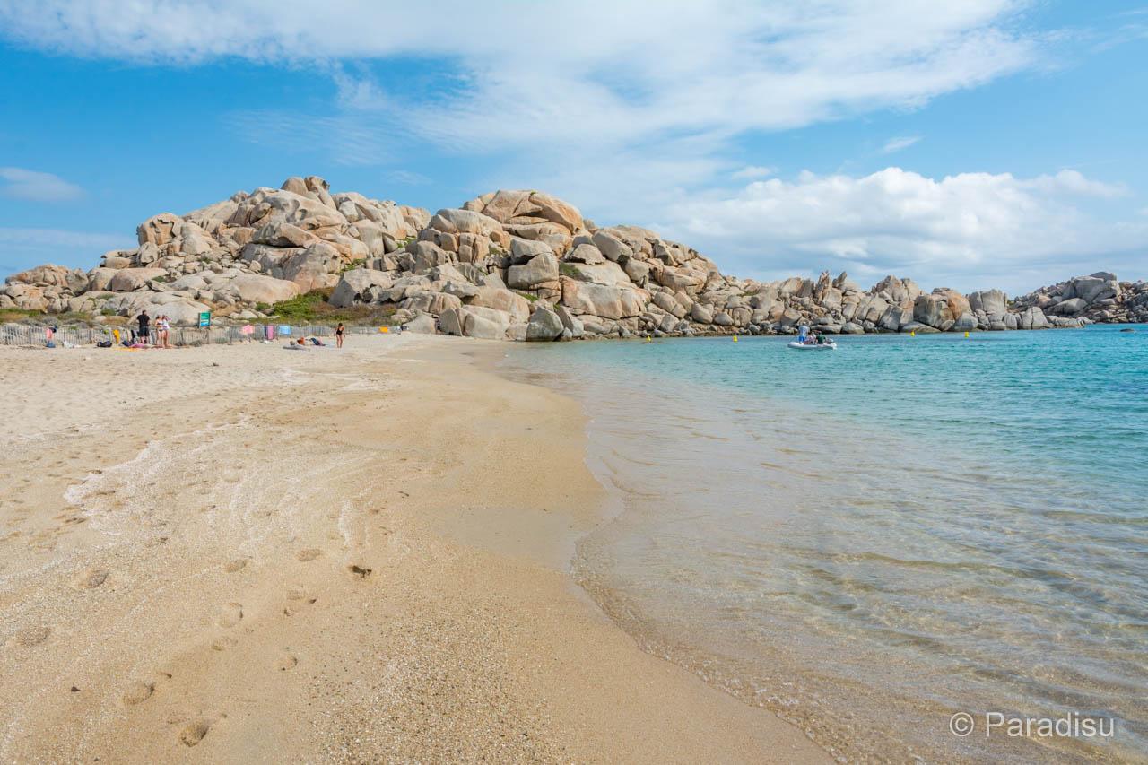Strand Von Cala Giunco Lavezzi