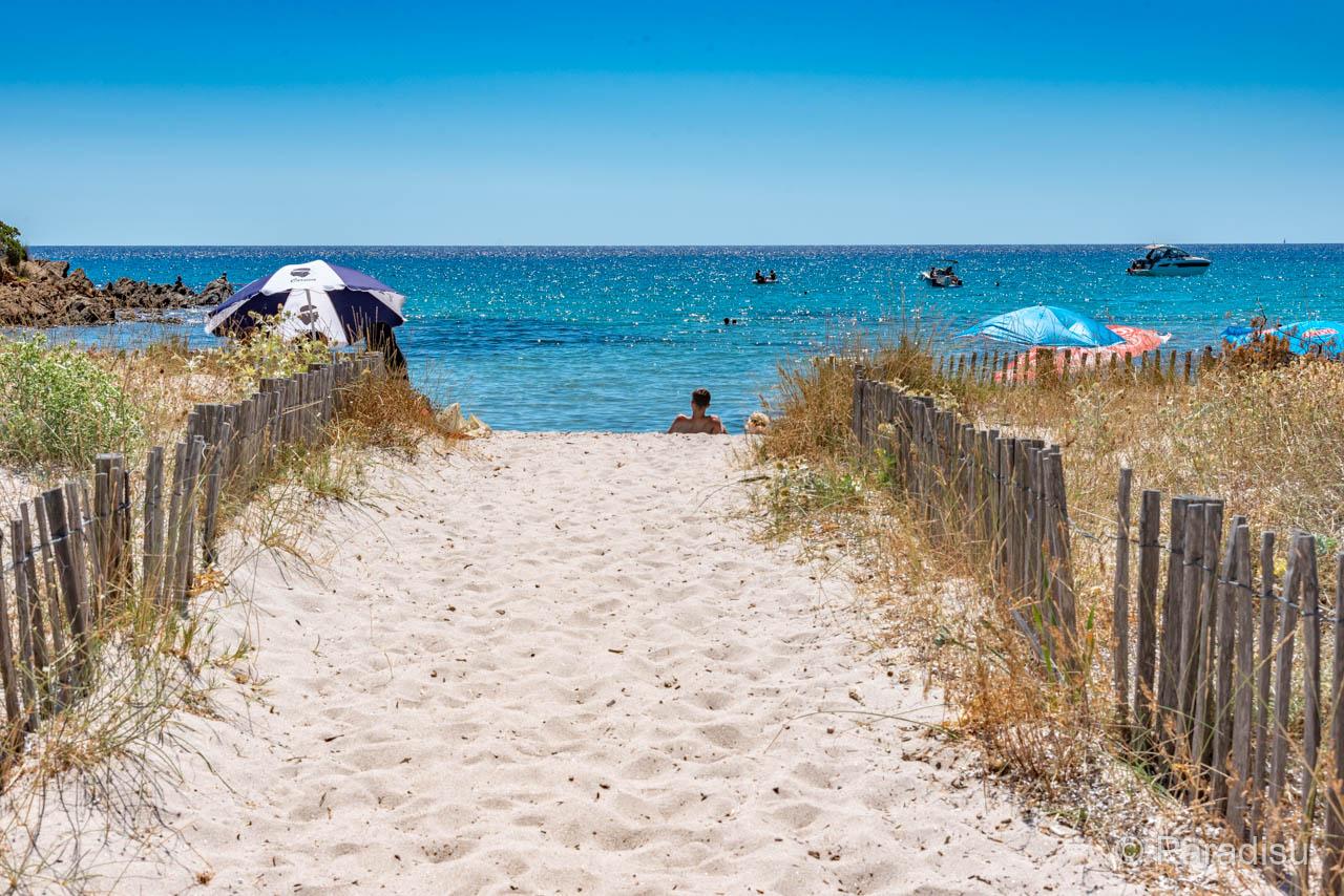 Strand Von Fautea Süd