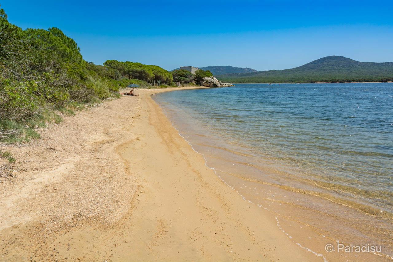 Strand Von Fortino Strände Im Süden Von Korsika