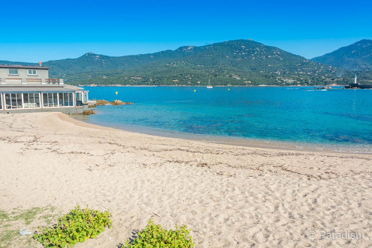 Strand Von Propriano / Plage De Lido Strände Im Golf Von Valinco