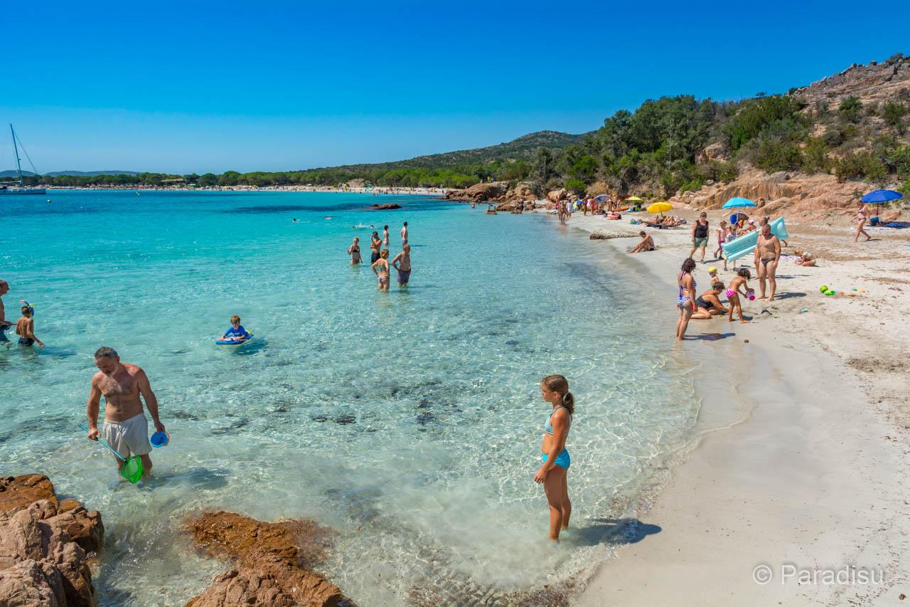 Strand Von Rondinara Strände Im Süden Von Korsika