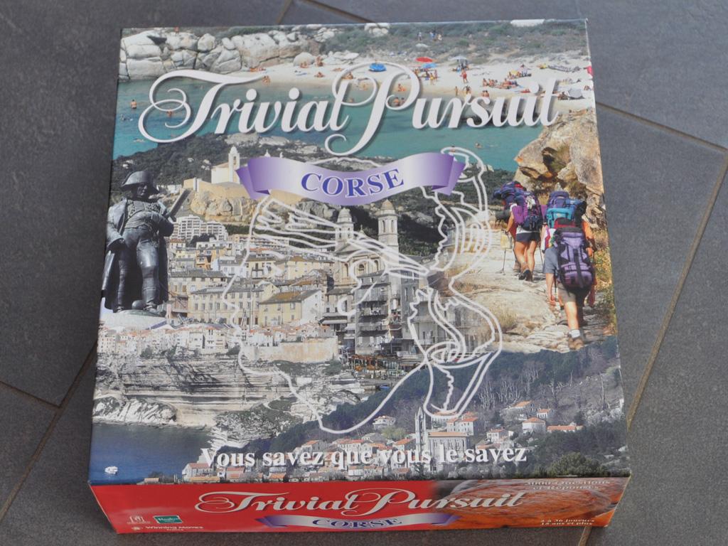 Souvenir aus Korsika: Trivial Pursiut Corse