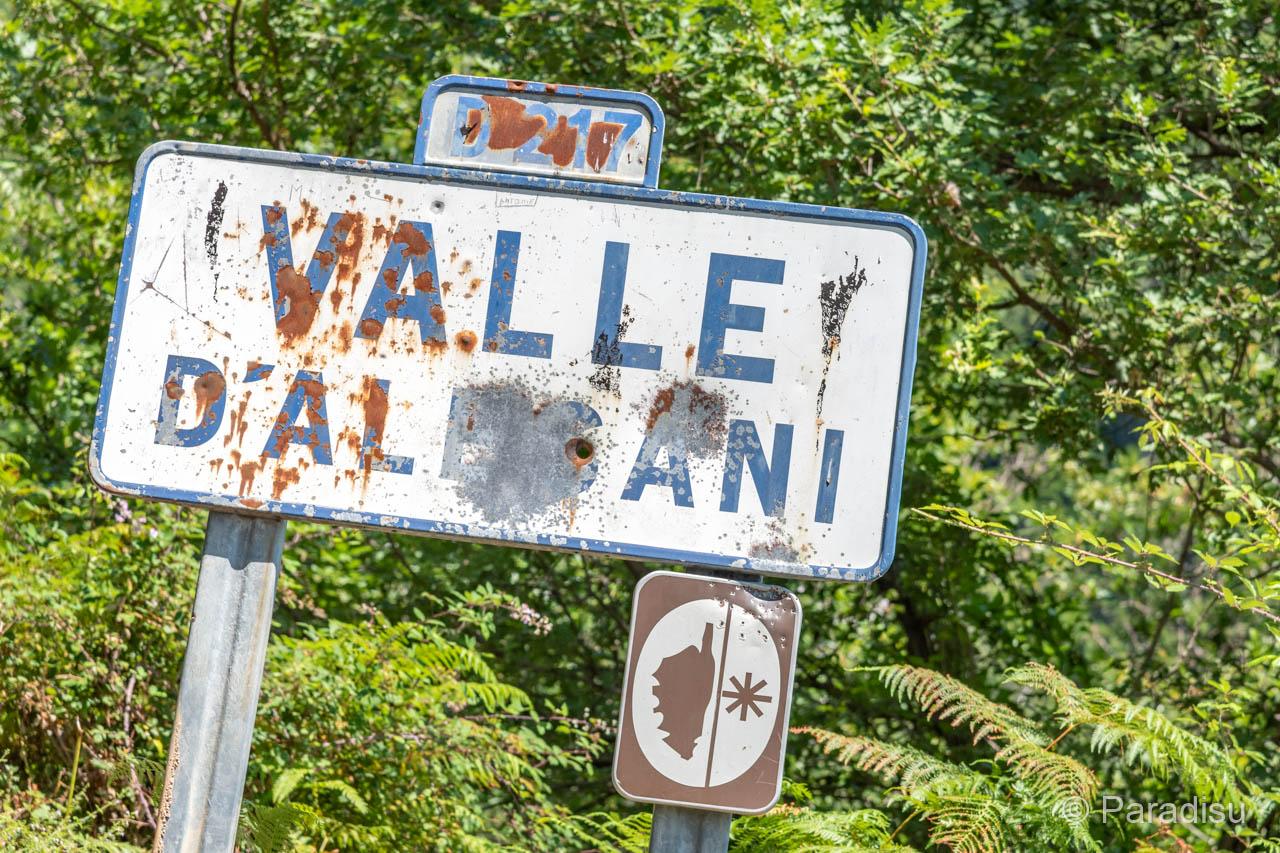 Alesani-Tal - Vallée D'Alesani