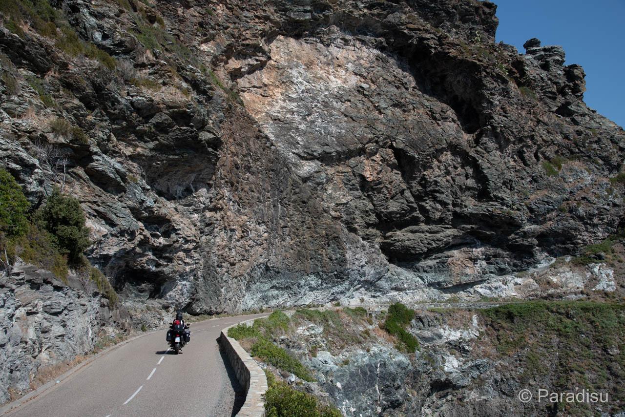 Westküstenstrasse Cap Corse