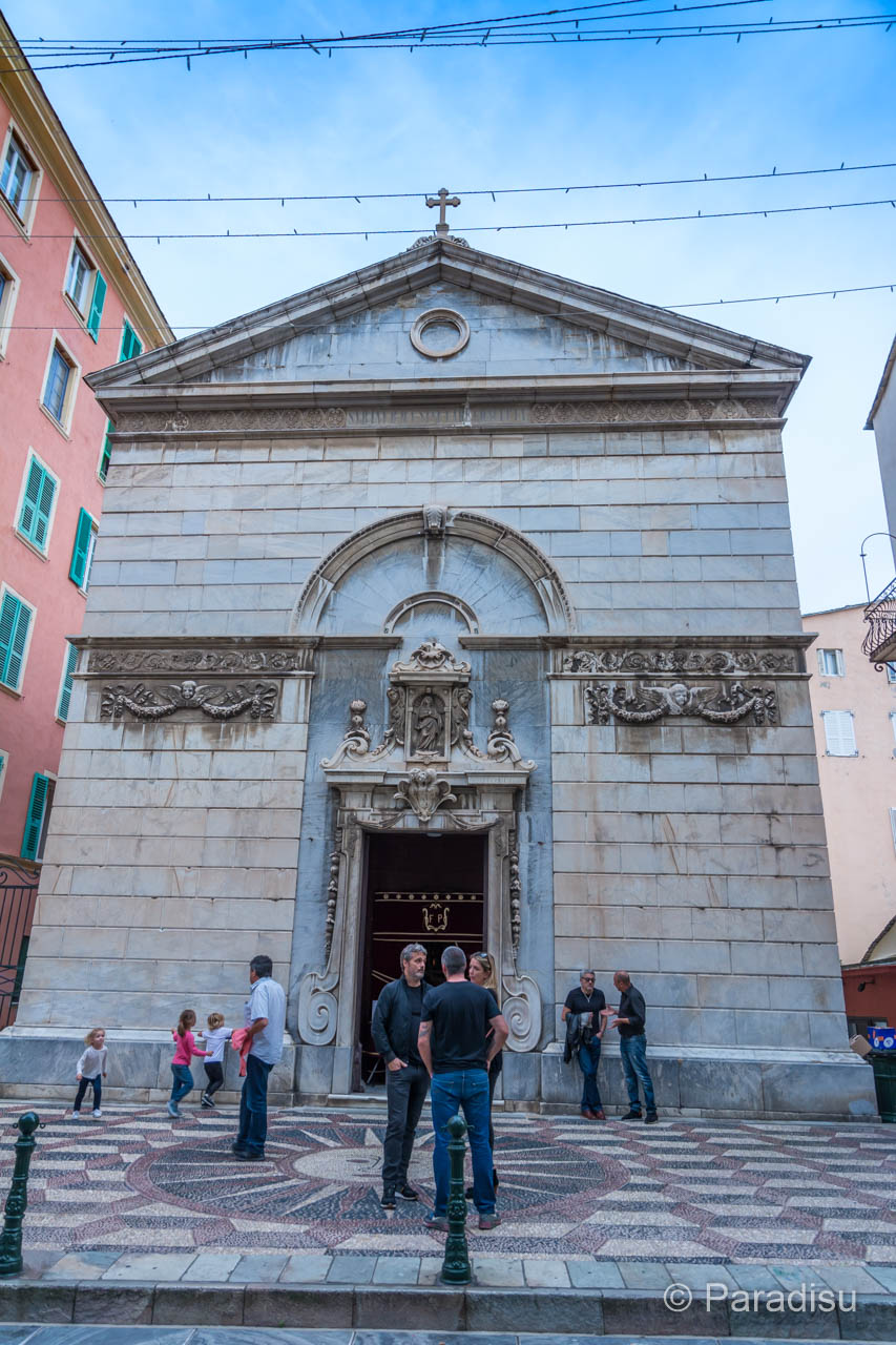 Bastia Oratoire de l'Immaculée Conception