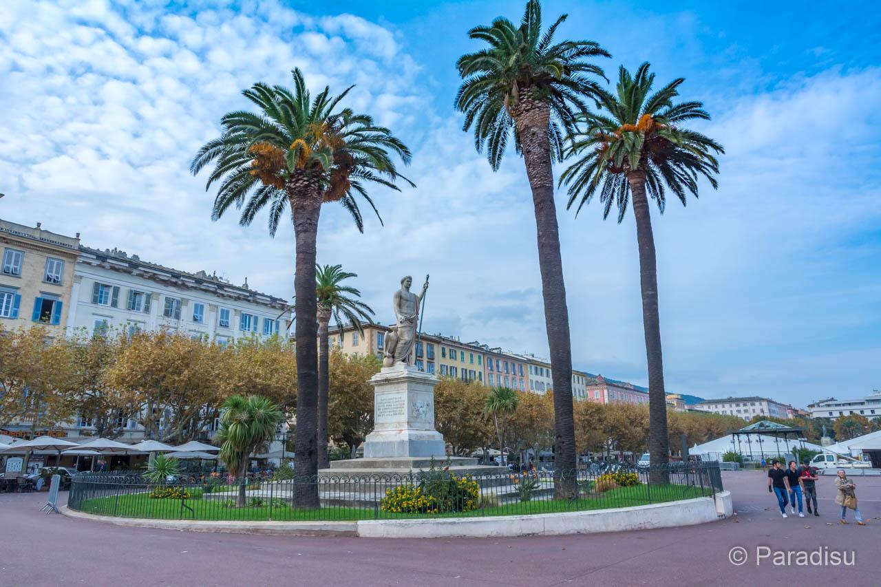 Bastia Place Saint-Nicolas