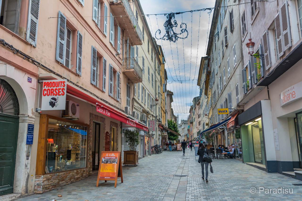 Bastia Rue Napoléon