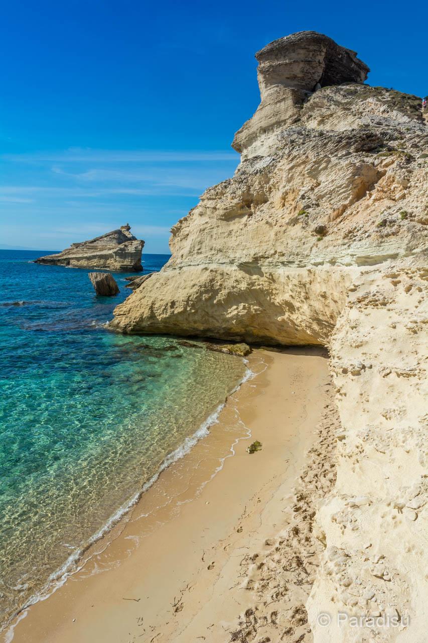 Capo Pertusato mit Strand Saint-Antoine