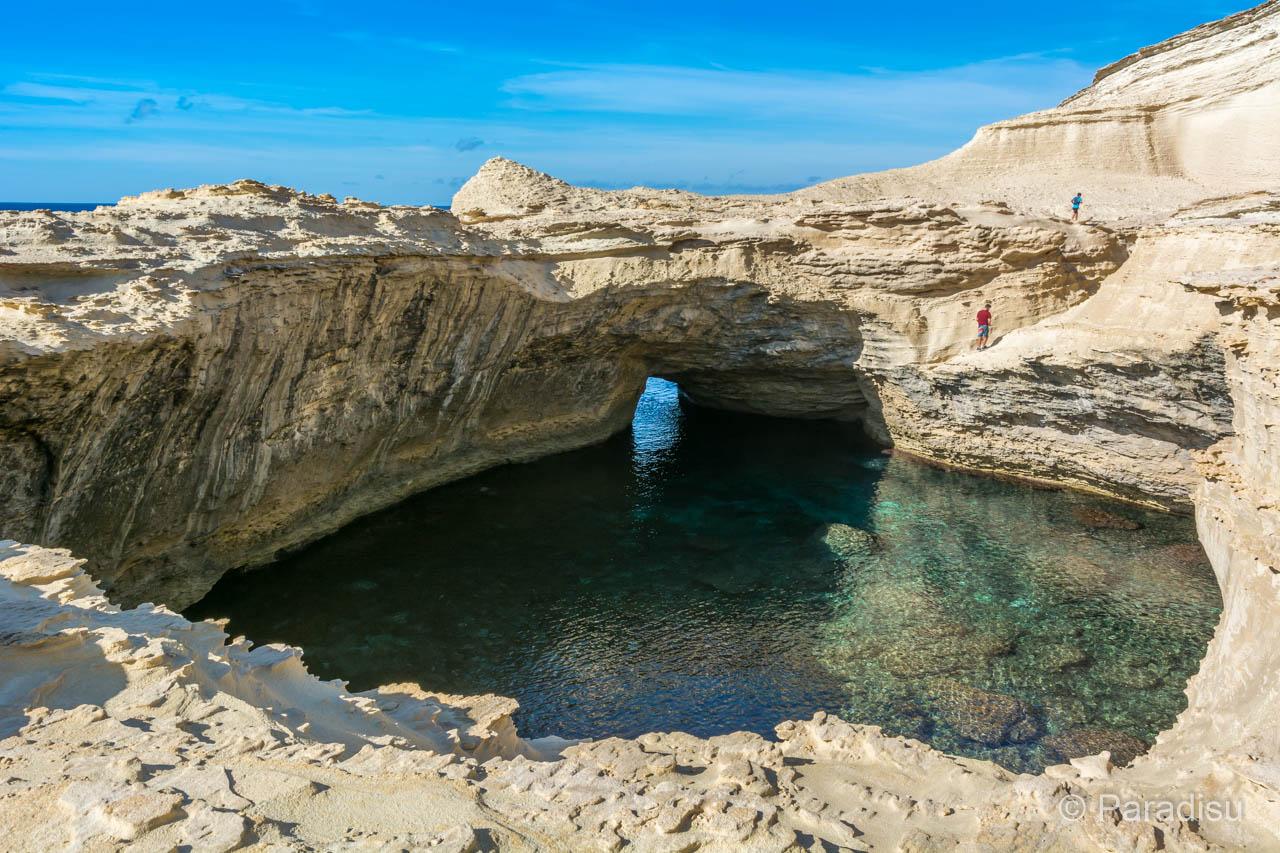 Grotte Am Capo Pertusato