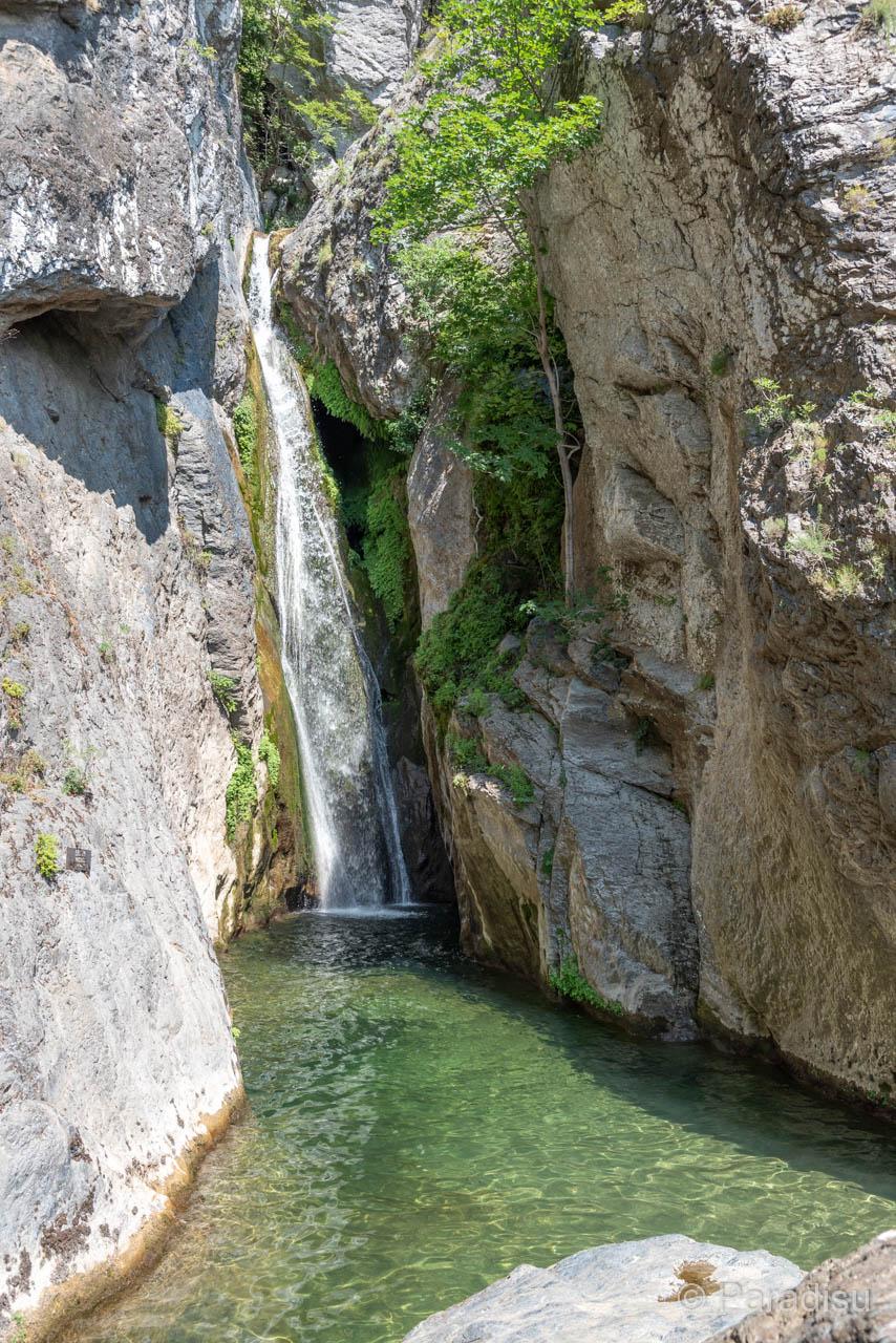 Badestelle Cascade De L'Ucelluline