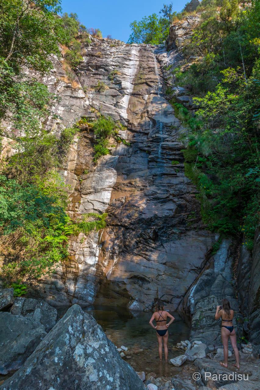 Wasserfall Cascade Sant'Albertu