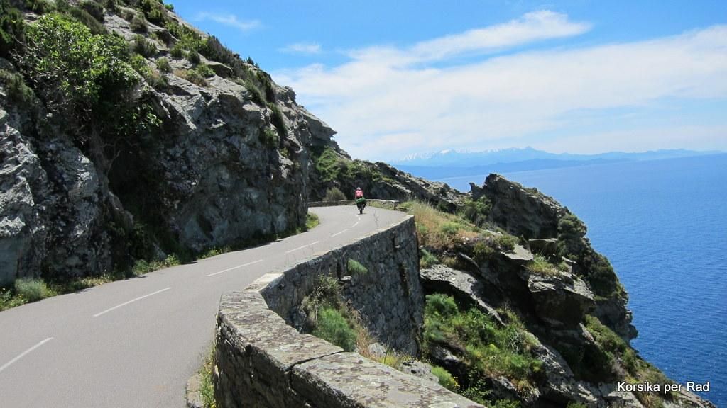 Korsika Per Rad: 1. Etappe
