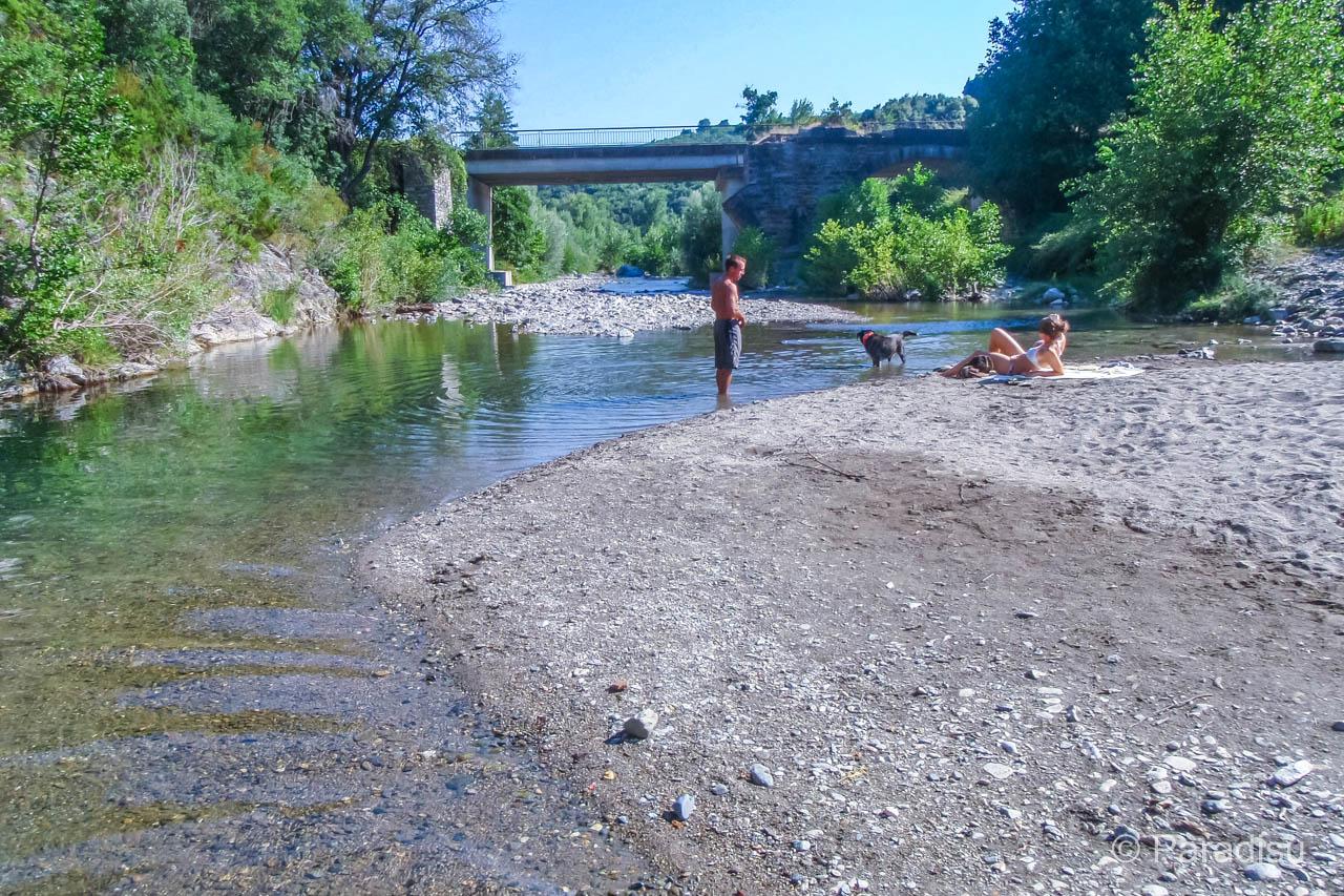 Flussbadestelle Bravone