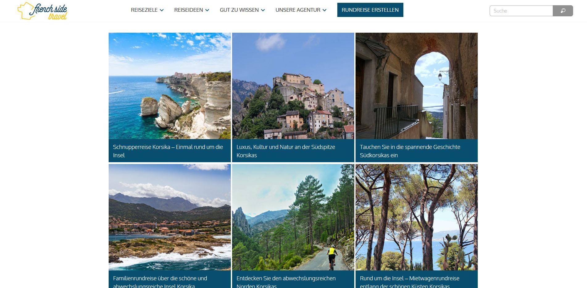 French Side Travel Korsika