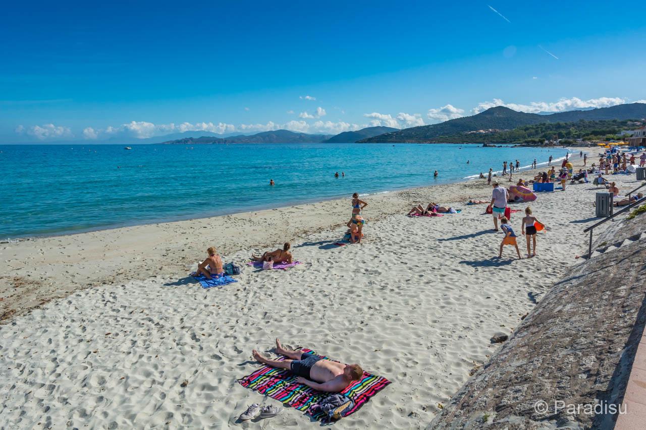 Ile-Rousse Sandstrand
