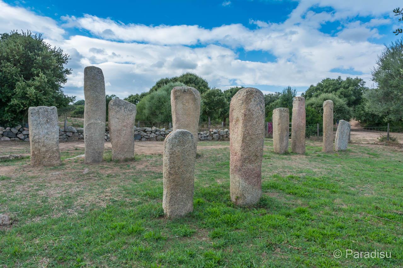 Korsika Geschichte Menhir Stantari