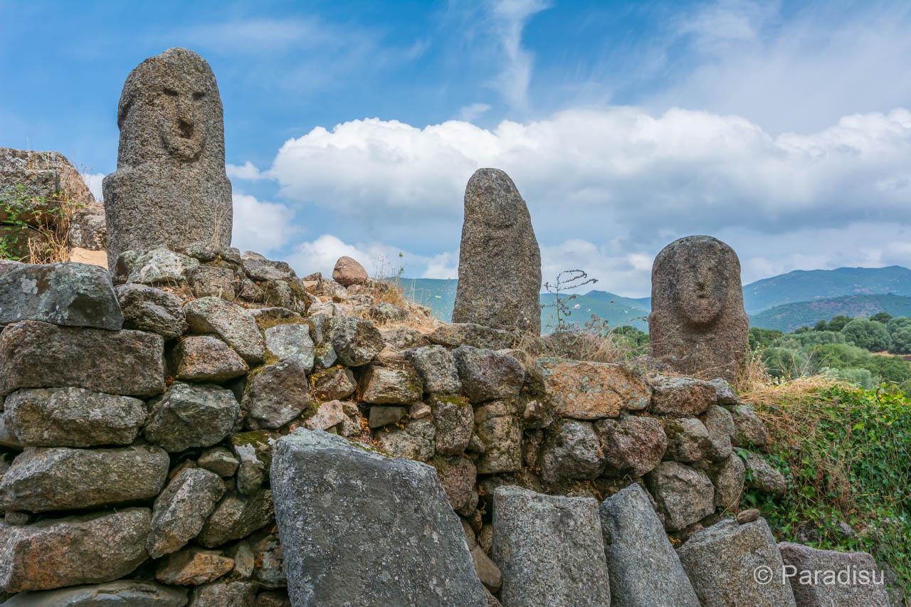 Korsika Geschichte Menhir Filitosa