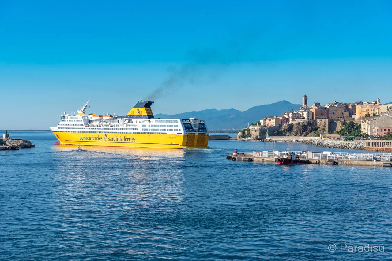 Mega Express Verlässt Bastia