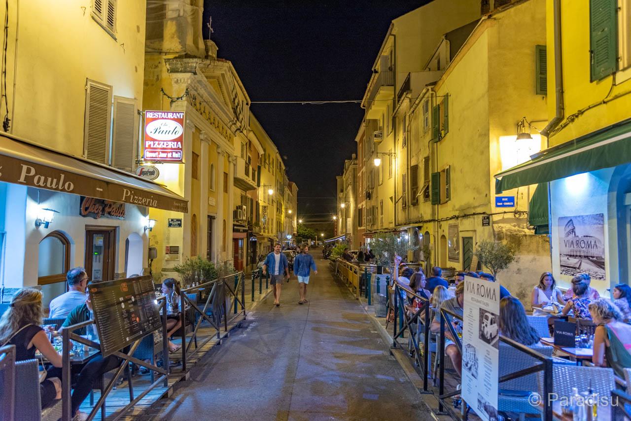 Rue Roi De Rome Im Ajaccio