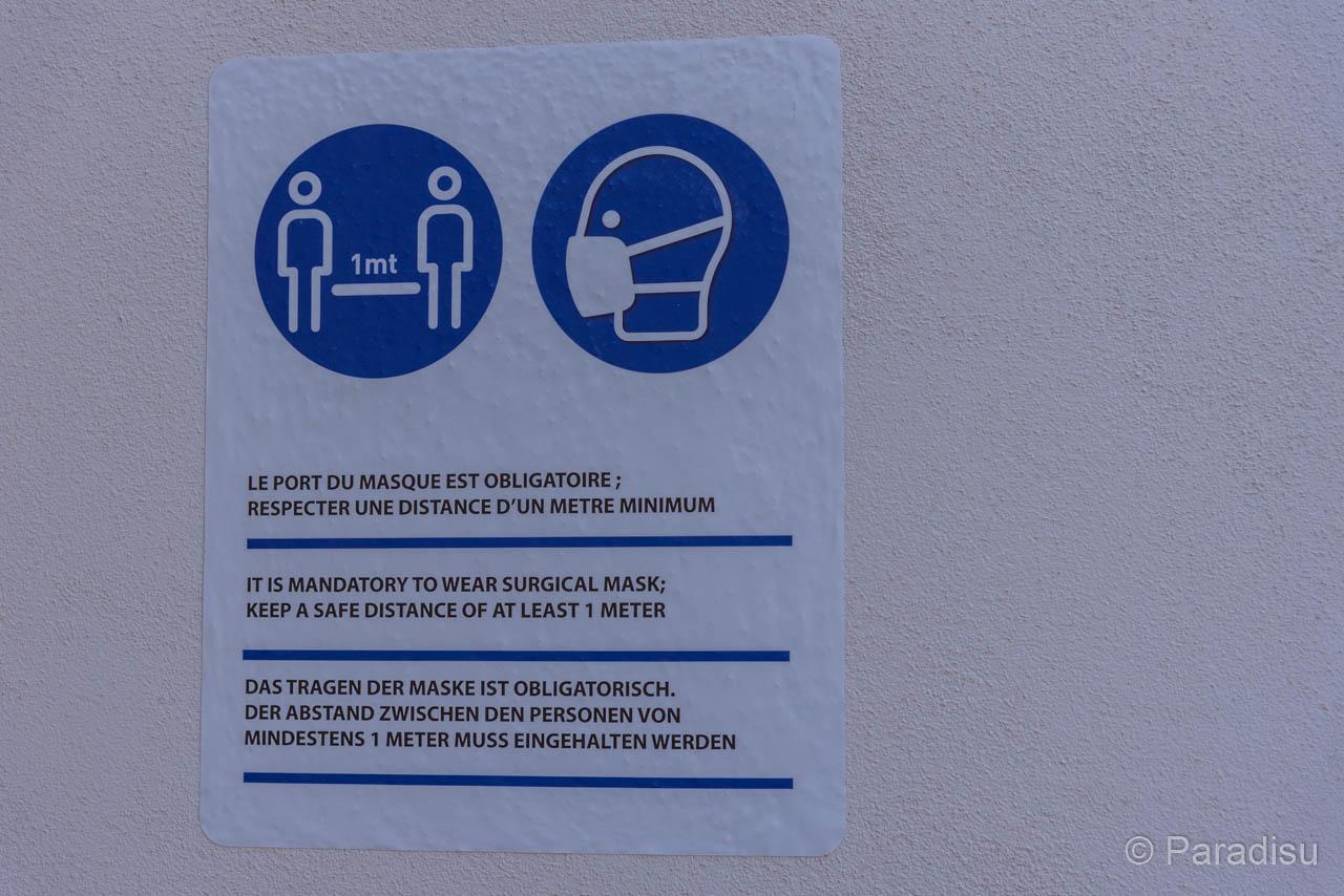 Corona-Vorschriften In Der Hafen-Bar