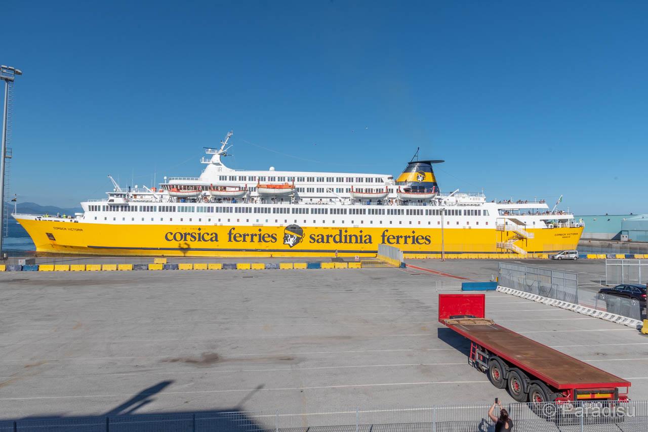 Corsica Victoria Im Hafen Von Savona