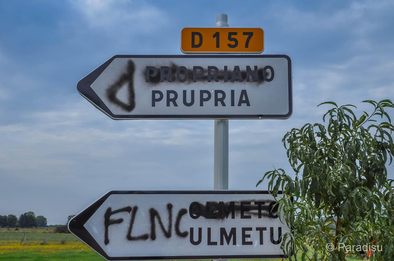 Korsika Sprache Korsisch
