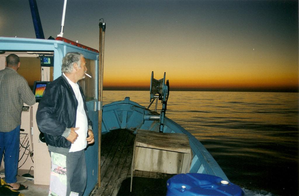 Langustenfischerei In Centuri