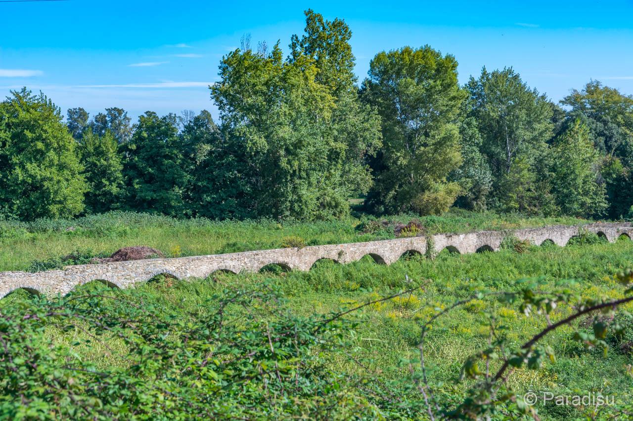Moriani Plage Aquädukt