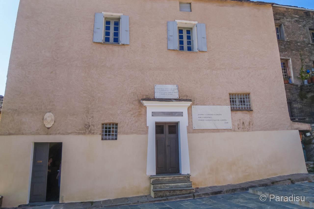 Maison Pascal Paoli