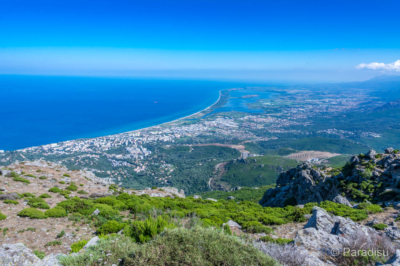 Nördliche Ostküste Korsika bei Bastia