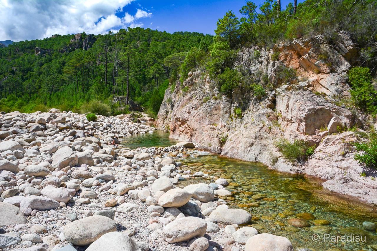 Solenzara Fluss