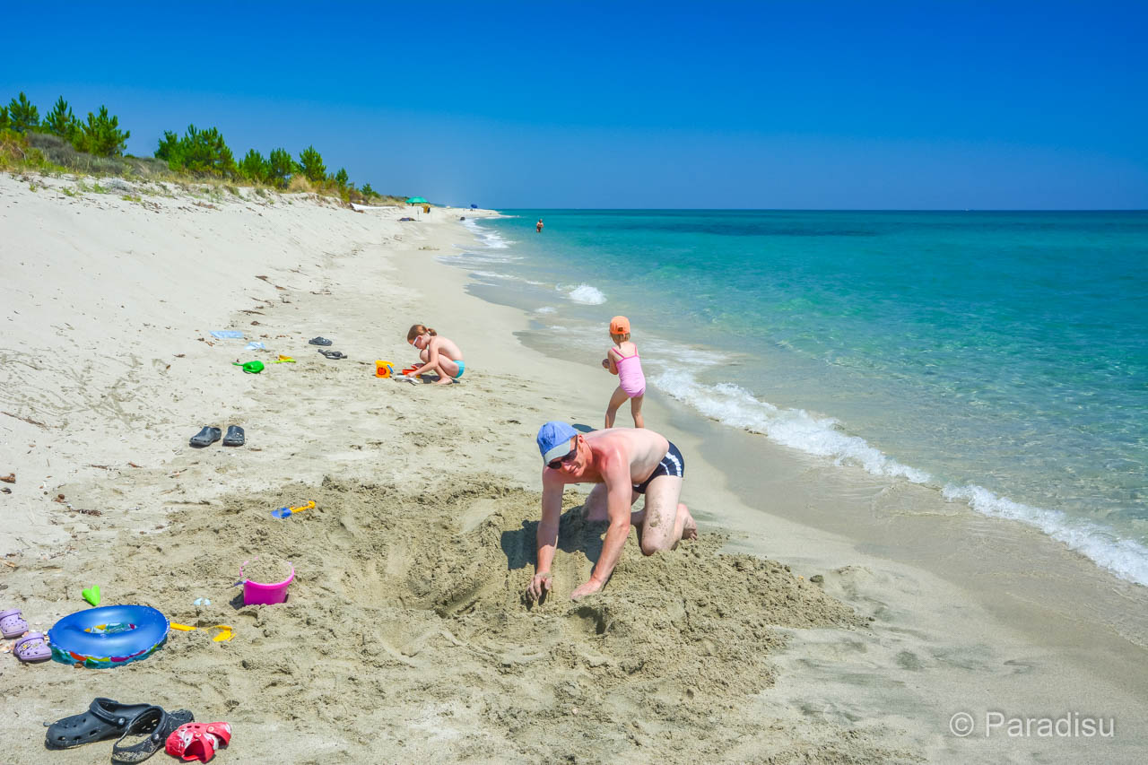 Strand Von La Pinia Ghisonaccia