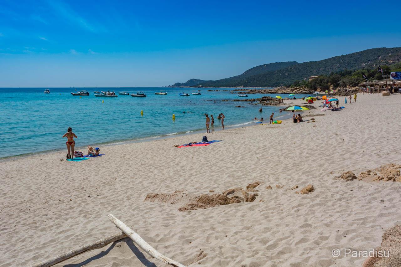 Strand Von Cala D'Orzu Strände Im Golf Von Valinco
