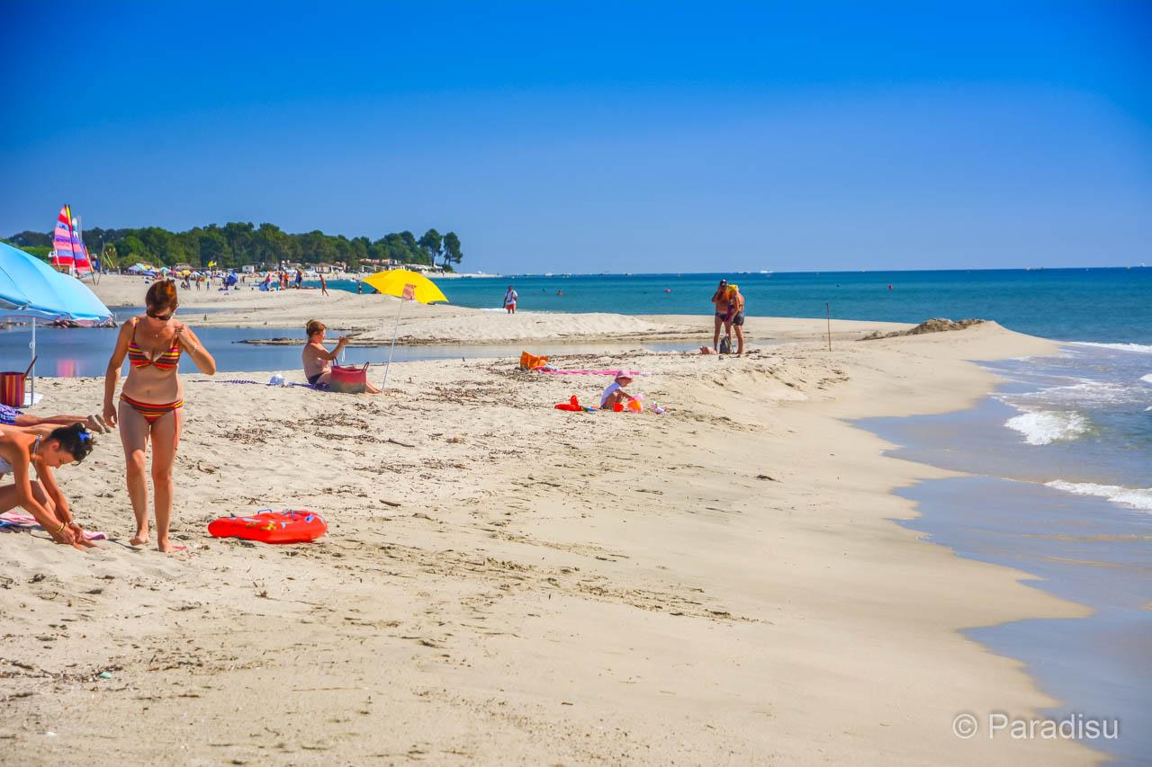 Strand von Calzarello