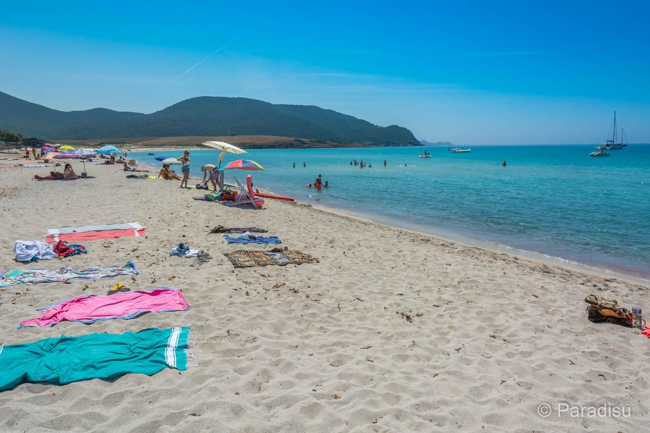 Strand Von Capo Di Feno