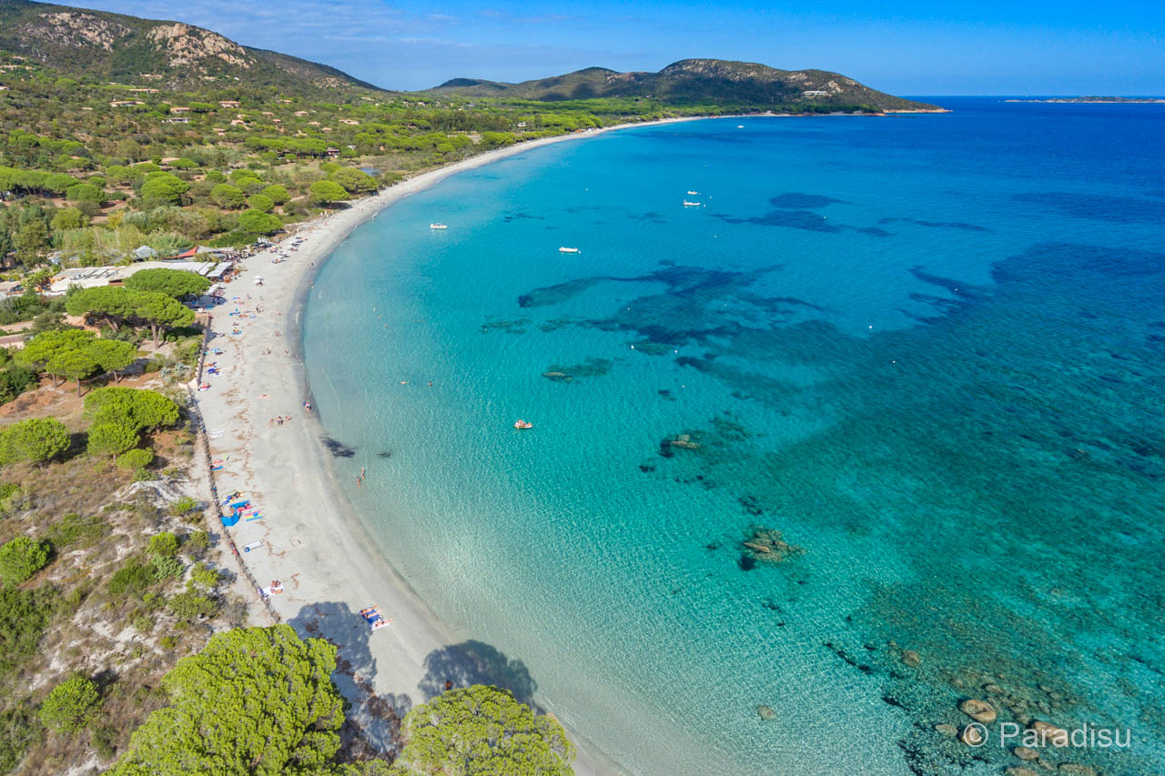 Korsika Strand Von Palombaggia