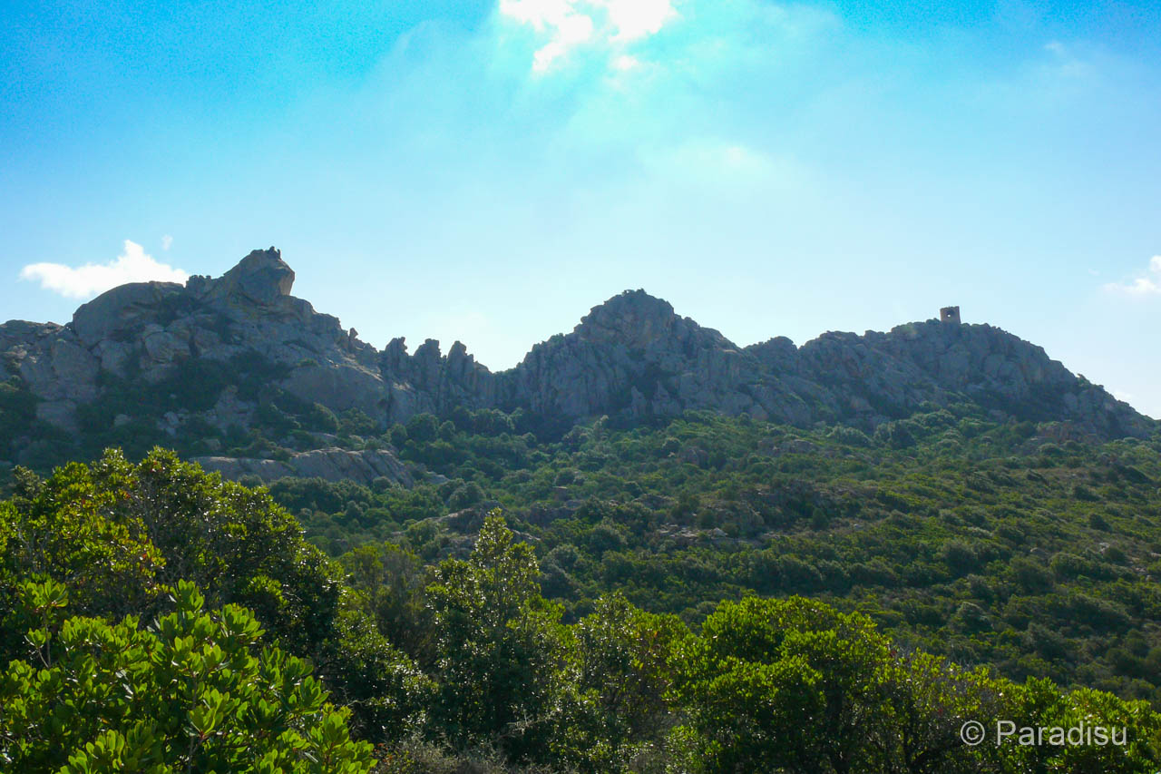 Wanderung Roccapina Erbaju
